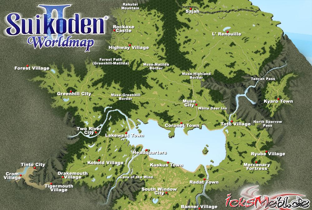 Suikoversum.de > Suikoden Allgemein > Landkarten